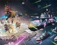 Clockwork Armada: Fleet Action