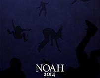 Noah Minimalist Movie Poster Concept