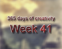 365 days of creativity/art - Week 41
