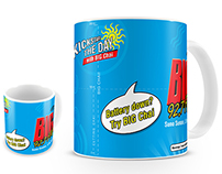 BIG 92.7 FM Chai Mug Design