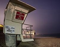 Crescent Bay Lifeguard Tower