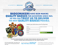 Badgemakers: Landing Page copy