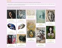 2014 Ioana Art personal website