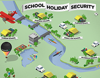 School Holiday Security website