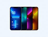 iPhone 13 Pro Mockup PSD