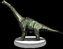Braquiosaurio Maya Diseño 3D