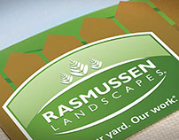 Rasmussen Landscaping Marketing Collateral
