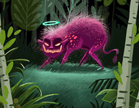iPad art - Jungle spirit