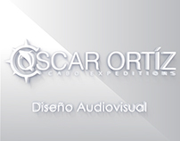 Diseño de concepto audiovisual para Oscar Ortíz