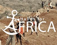 Hands For Africa Branding