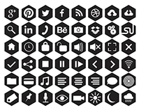 Free Hexagonal Fill Icons (PNG + SVG)