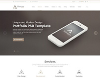 PSD Template - Waxom - Clean & Universal