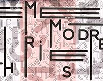 Ficciones Typografika | Die with memories not dreams