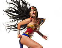 Rafa Gosalez Wonder Woman Cosplay
