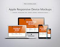 Free Apple Responsive Device Mockups