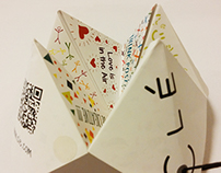 A Paper Fortune Teller | Hang Tag Design | Clé