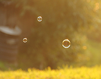 Magic of Bubbles, Kids and Mountains:)