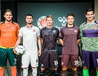 2014-15 FC St. Pauli Matchwear