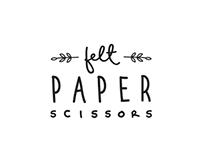 Felt Paper Scissors