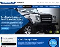 APB Trading website redesign