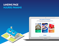 Landing Page Huurre