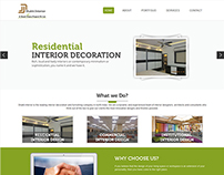 Shakti Interior Website Design