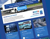 Hilltop Transport website redesign