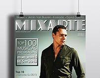 MixArte - Conceito Capa Revista DJ
