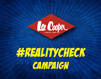Lee Cooper Reality Check Campaign