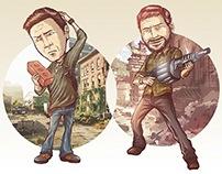 Nathan Drake & Joel. Crossover.