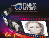 Trained Actors A3 Poster