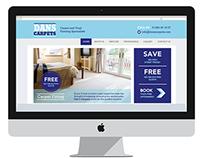 Dans Carpets web design