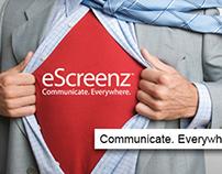 eScreenz Logo Design
