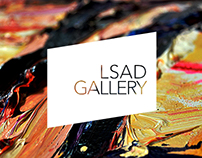 LSAD Gallery | Website & UI Design