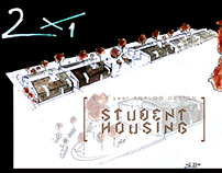Student housing - short project 2'nd year
