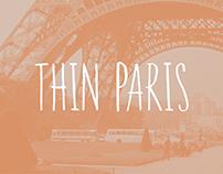 Thin Paris Typeface