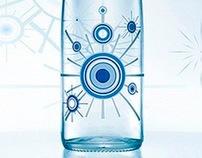 Henniez Water, Collector Bottle 2007-2009