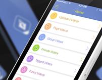 Video Downloader for Facebook Redesign Concept