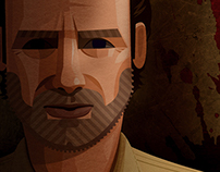 Rick Grimes. The Walking Dead