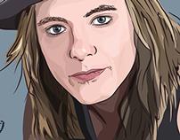 My illustration of Jonne Aaron