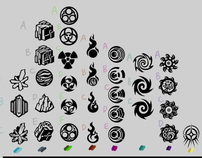 Mechatars Elemental Icons