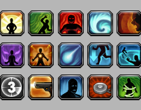 MMO Action Icons