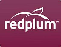 Red Plum Mobile App Concept