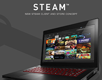 Steam Store Redesign