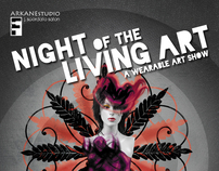 Night of the Living Art Poster