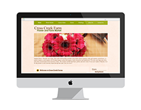 Cross Creek Farm Website Redesign