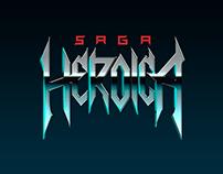 Saga Heroica Logo Redesign & Art Album