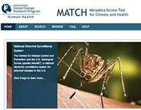 Metadata Access Tool for Climate and Health (MATCH)