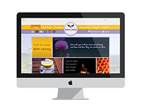 Nature's Nectar Website Concept