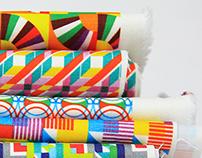 Bibu Textile Geometric Patterns Design